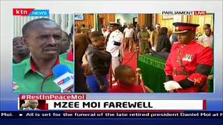 Wilson Sossion leads teachers in mourning Former President Daniel Moi