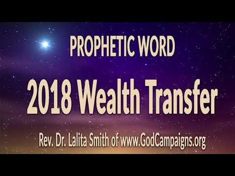 2018 Wealth Transfer Prophecy