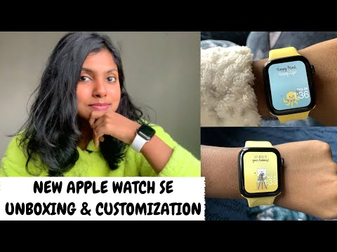 Apple Watch SE Unboxing & Customization - New Apple Watch First Impression & Uses | AdityIyer