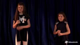 Сёстры Каймаковы (Россия). Полуфинал Детской Новой Волны 2017 (№20)