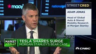 Tesla's soaring stock: Morgan Stanley's Managing Director Adam Jonas