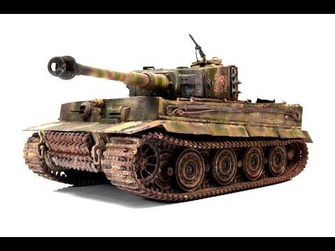 Panzerkampfwagen VI Tiger Late 1/35 Academy