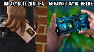 Samsung Galaxy Note20 Ultra - 5G Gaming Day in the Life