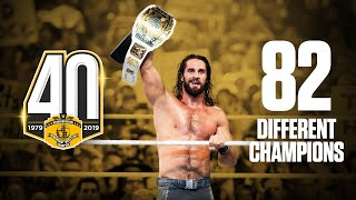 The Intercontinental Championship: By The Numbers