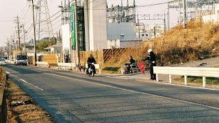 【光電管ねずみ捕り】東松山市大字松山 国道407
