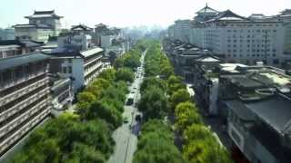 Video : China : Xi'An 西安 from the air