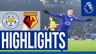 Seventh Win In A Row | Leicester City 2 Watford 0