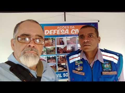 Defesa civil de Aparecida de Goiânia Juliano Cardoso.