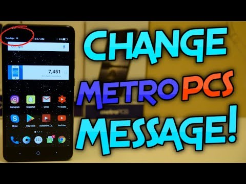 How to Remove the Metro PCS Message from the Notification Screen on
