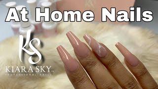 Easy DIY Fake Nails | No Experience Needed | Kiara Sky Gelly Tips