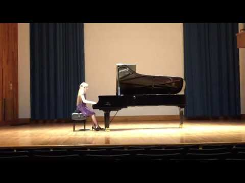 This is a performance at the Marian Garcia Piano Competition at Penn State University of Beethoven's Sonata Op. 10
