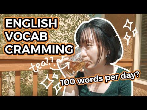 [ENG] 100 WORDS A DAY? HỌC NHỒI TỪ VỰNG TIẾNG ANH | English Tips