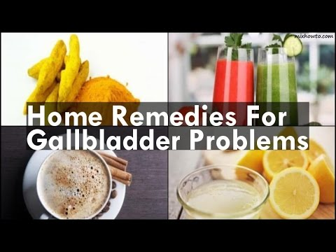 Video Home Remedies For Gallbladder Problems
