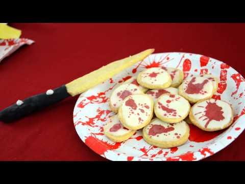 Recept ideeën voor Crime Scene thema Halloween