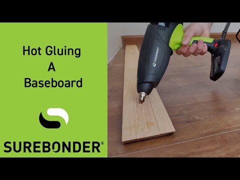 Hot Gluing A Baseboard Mp3