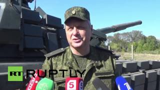 "Ukraine: LNR/LPR forces withdraw tanks of ""all types"" from frontlines"
