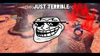 Battling just horrible Xenoverse 2 players