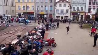 preview picture of video 'Bytów 2014 poświęcenie motocykli'