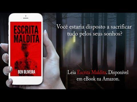 Teaser do livro Escrita Maldita | Ben Oliveira