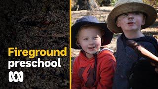 Fireground preschool helping to heal kids' minds after bushfires   ABC Australia