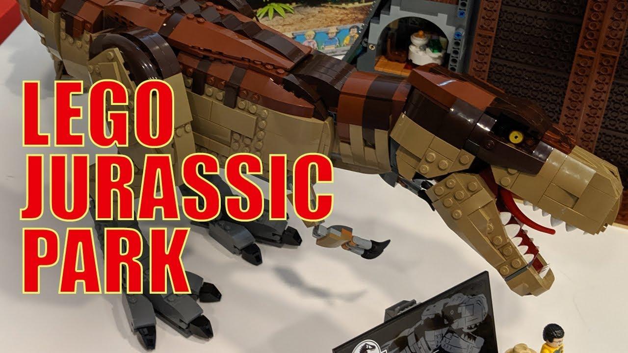 LEGO Jurassic Park T. rex Rampage 75936: Designer Interview!
