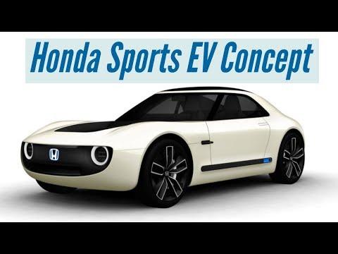 Honda Sports EV Concept | Auto Expo 2018
