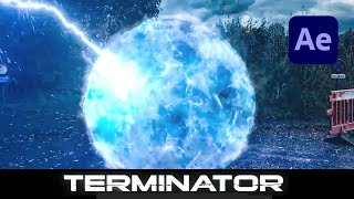 Terminator Teleport Effect in Adobe After Effects - How To Tutorial