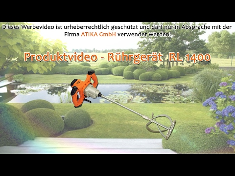 ATIKA Produktfilm - Rührgerät RL 1400