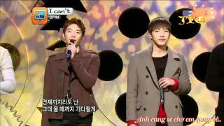 [JTU SubTeam][Vietsub] 2PM - I Can't Live