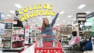 COLLEGE DORM ROOM SHOP WITH ME
