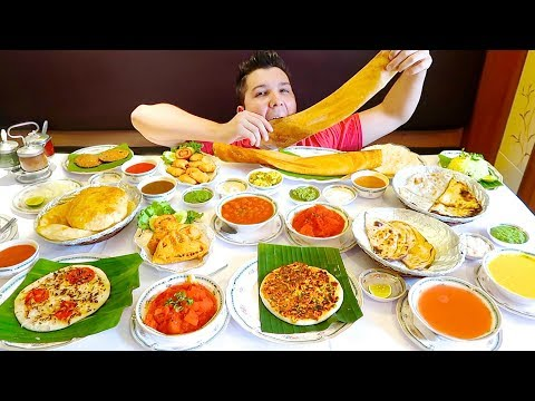 Massive Indian Food Buffet • All You Can Eat • MUKBANG