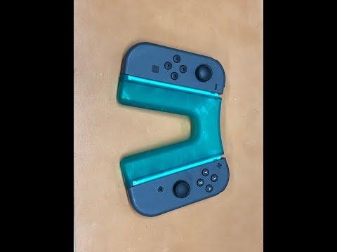 Nintendo Switch - Customizable Joy Con Grip by StephenLulz