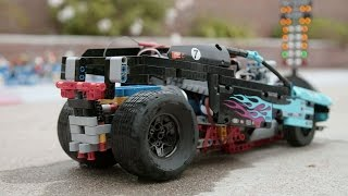 Supercharged Drag Racer - LEGO - Beyond The Instructions