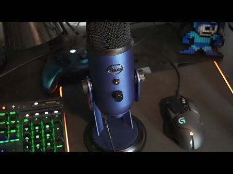 Blue Yeti (Midnight Blue) USB Mic REVIEW