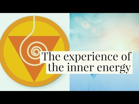 Feeling of energy flowing through the energy centers
