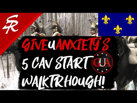 French 5 Cavalry Start! Ft. GiveUAnxiety | Coaching #5 | Age of Empires III