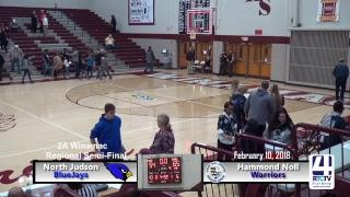 Hammond Noll (17-9) vs North Judson (21-2) - Girls Basketball Regionals @ Winamac