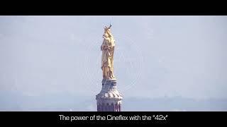 La puissance de la Cineflex et de son objectif 42x #2