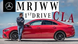 YouTube Video UqG1_FDM2O8 for Product Mercedes-Benz CLA-Class Sedan & Shooting Brake (C118) by Company Mercedes-Benz in Industry Cars