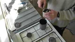 Как расплавить алюминий в домашних условиях видео