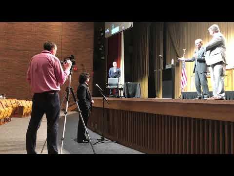 Video: Clark Thornton speaks