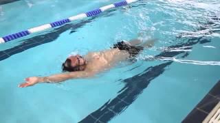 Backstroke Swimming Technique – Catch Up Drill