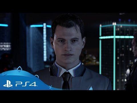 Trailer focalisé sur l'androïde Connor  de Detroit : Become Human