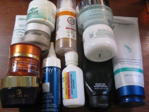 Overview Review Skincare Serum and Moisturizers