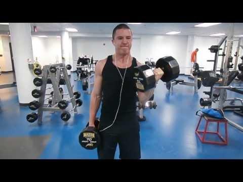 Cum să pierdeți greutatea brațului cu greutăți