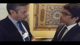 Carlos Creus Moreira Interview at the India Economic Forum on the 4th Industrial Revolution /IoT