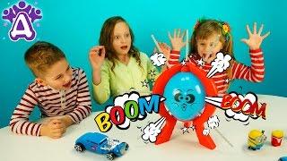 Бум бум баллун игра распаковка Лопаем шарик палочками колючками. BOOM BOOM BALLOON Game Review