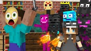 Monster School : BREWING WITHER SKELETON CHALLENGE- Minecraft Animation