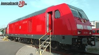 preview picture of video 'TRAXX Multi-Engine-Lokomotive von Bombardier'