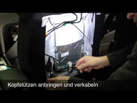 Audi Rear Seat Entertainment - Artikel: 2165 & 3244